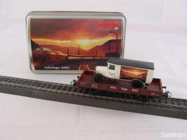 Märklin 94129 Sonderwagen Info Tage 2003 gebraucht mit Originalverpackung
