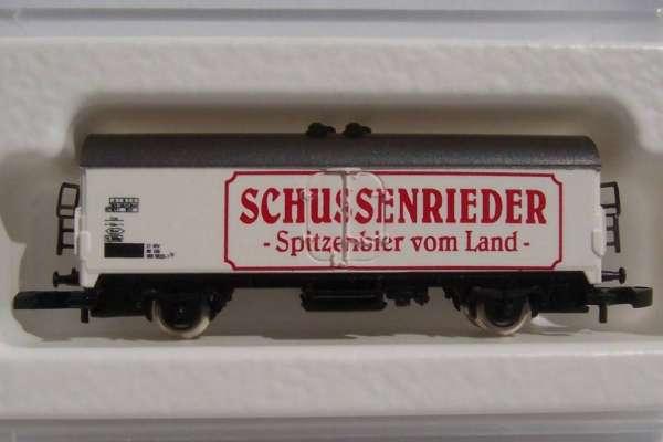 8600 Bierwagen Sondermodell Schussenrieder Spitzenbier mit Originalverpackung