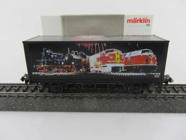Märklin Basis 4482 Containerwagen, mit Märklin ins neue Jahrtausend, mit OVP