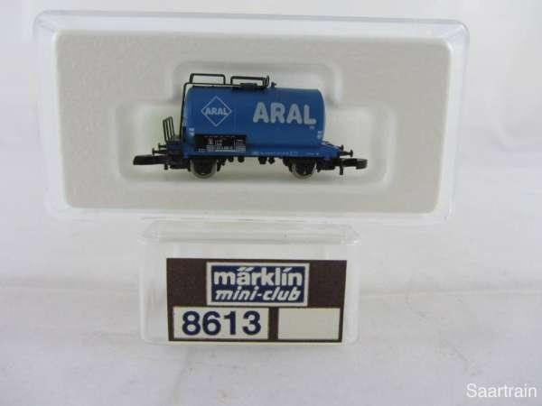 Märklin 8613 Kesselwagen ARAL 2 achsig sehr guter Zustand mit Verpackung