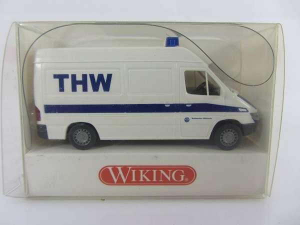 Wiking 693073 HO 1:87 MB Sprinter THW, neu und mit OVP