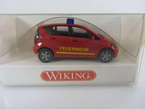 Wiking 601085 HO 1:87 MB A-Klasse Feuerwehr, neu und mit OVP
