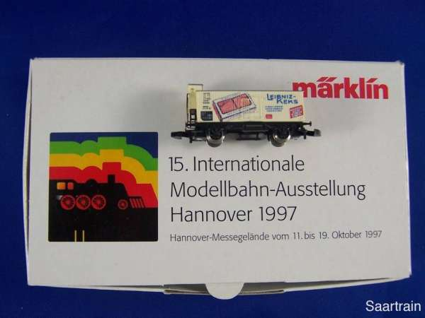 Märklin Sondermodell Messewagen G10 Basis 8661 Leibnitz Keks 1997 Hannover OVP
