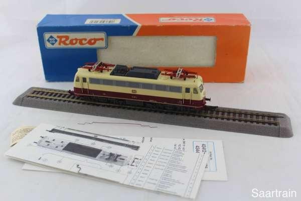 ROCO 43448 Elektrolok Br 114 487-2 der DB in rot-beige, guter Zustand mit Verpackung