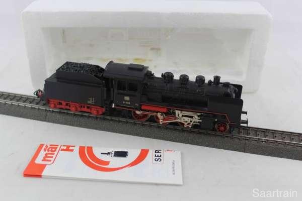 Märklin 3003 Dampflok Br 24 058 der Deutschen Bundesbahn in schwarz, ohne Verpackung