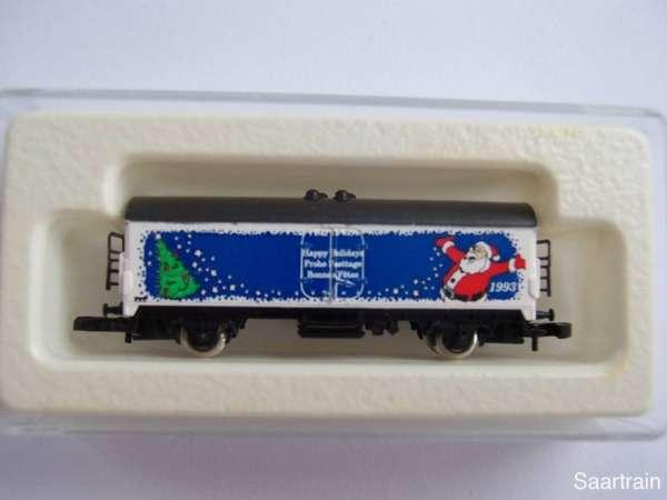 Märklin 8600 Kühlwagen Sondermodell Weihnachtswagen 1993 m. Originalverpackung