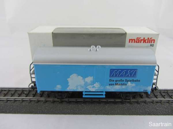 Märklin Basis 4415 Werbewagen Maxi große Spielbahn Sondermodell Neu mit OVP