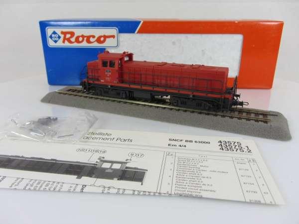 ROCO 43575.2 Diesellokomotive Em 4/4, rot, Neu und mit OVP