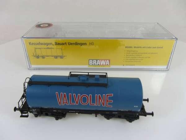 BRAWA 48920 4-achsiger Kesselwagen Valvoline Sonderserie Neuwertig und mit OVP