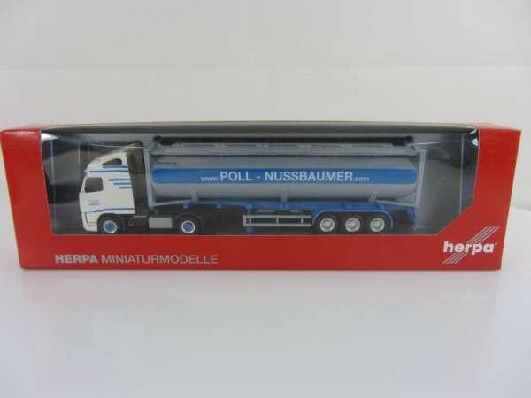 HERPA 157933 1:87 Volvo 08 Sz Tankcontainer Poll-Nussbaumer neu mit OVP