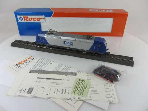 ROCO 69565 Elektrolokomotive 145-CL201 der RAG BahnHafen Digital und mit OVP