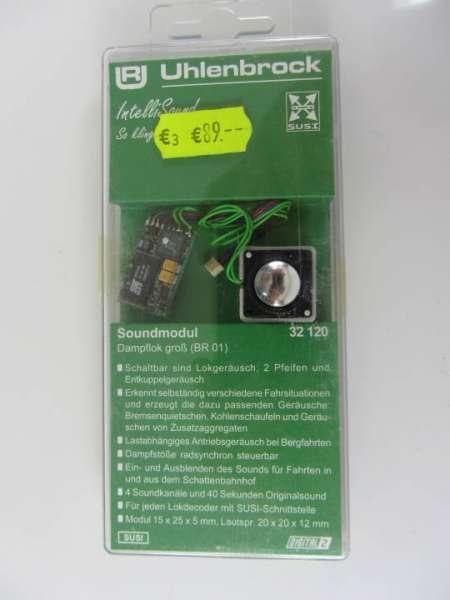 Uhlenbrock 32120 Soundmodul (Decoder mit Lautsprecher) neu und originalverpackt