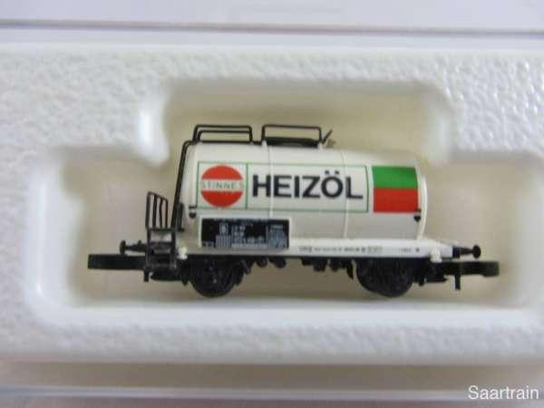 Märklin 8612 Kesselwagen 2 achsig Stinnes Heizöl aus Startset mit Verpackung