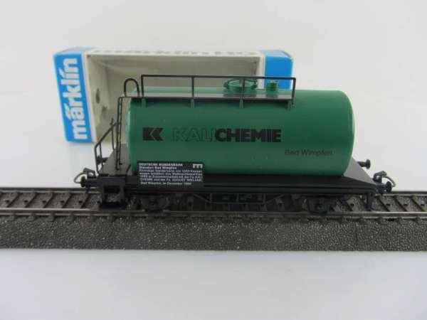 Märklin Basis 4440 Kesselwagen Kali CHEMIE Sondermodell neuwertig und mit OVP