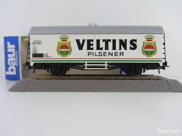 Baur Nr. 208 HO Bierwagen Veltins Pilsner weiß Neu mit Originalverpackung