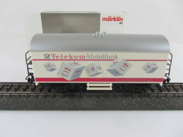 Basis 4415 Werbewagen TELEKOM D1 Mobilfunk Sondermodell mit Verpackung
