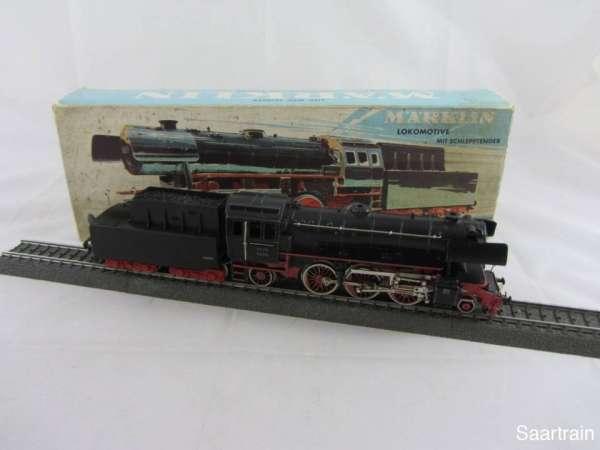 Märklin 3005 Dampflok Br 23 014 der DB in schwarz (III) gebraucht mit OVP