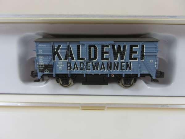 Brawa 67404 DB ged.Güterwagen G 10 Kaldewei, OVP,neuw.,M1:160
