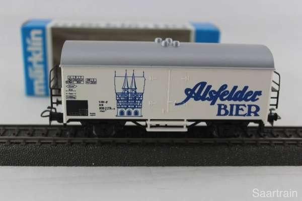 Märklin Basis 4415 Bierwagen Alsfelder Bier Sondermodell, neu und mit OVP