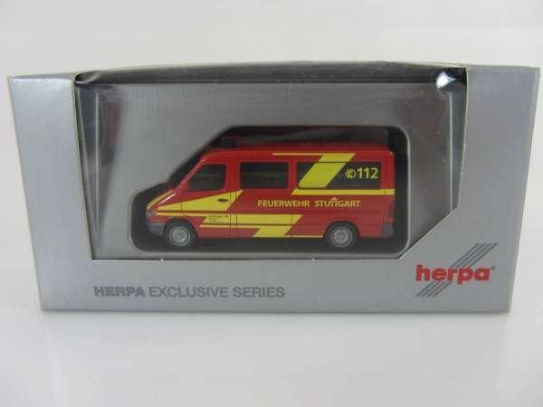 HERPA 908023 1:87 MB Feuerwehr Stuttgart neu mit OVP
