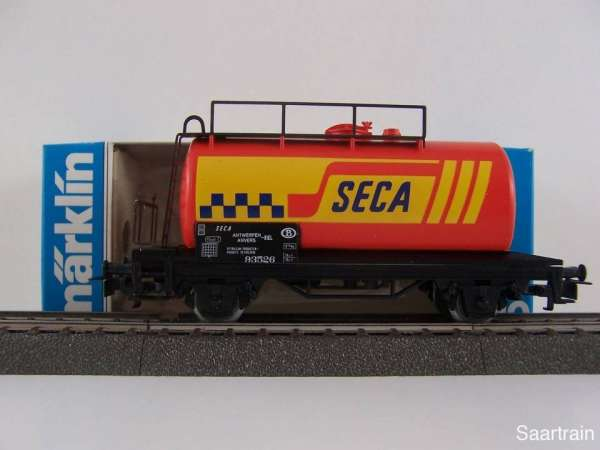 Märklin 4561 Kesselwagen SECA Belgien neuwertig und mit Originalverpackung