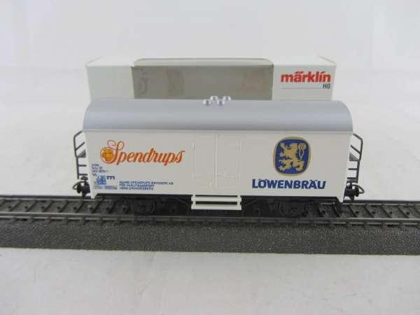 Märklin Basis 4415 Bierwagen Spendrups Löwenbräu Schweden Neu mit Verpackung