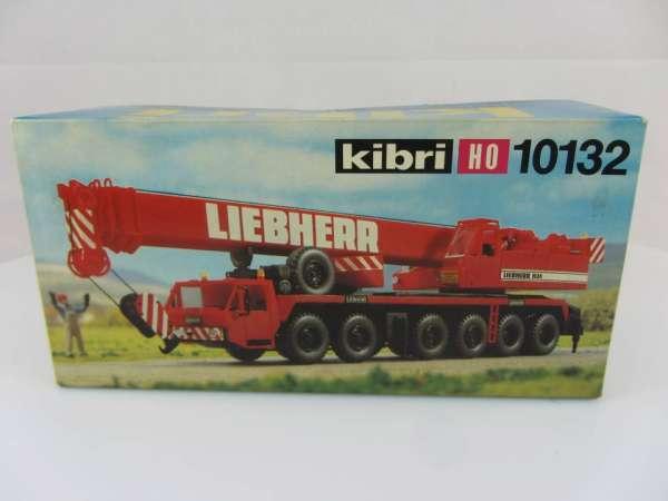 KIBRI 10132 1:87 Liebherr Autokran rot, neuwertig und mit Verpackung