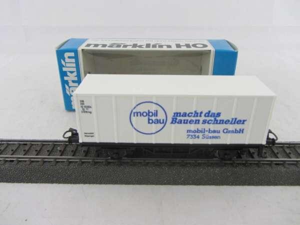 Basis 4481 Containerwagen Mobilbau Süssen mit Verpackung