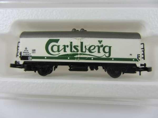 Märklin 8600 Bierwagen Carlsberg Bier Dänemark DSB sehr selten m. Verpackung