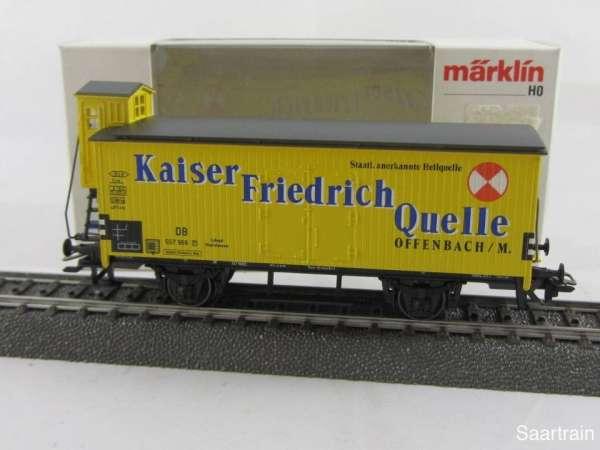 Märklin 4890 Gedeckter Güterwagen G10 Kaiser Friedrich Quelle Neuwertig mit OVP
