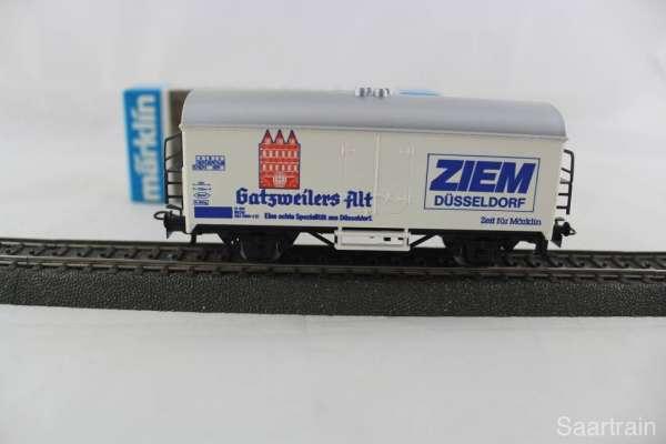 Märklin Basis 4415 Bierwagen Gatzweilers Alt Sondermodell, neu und mit OVP