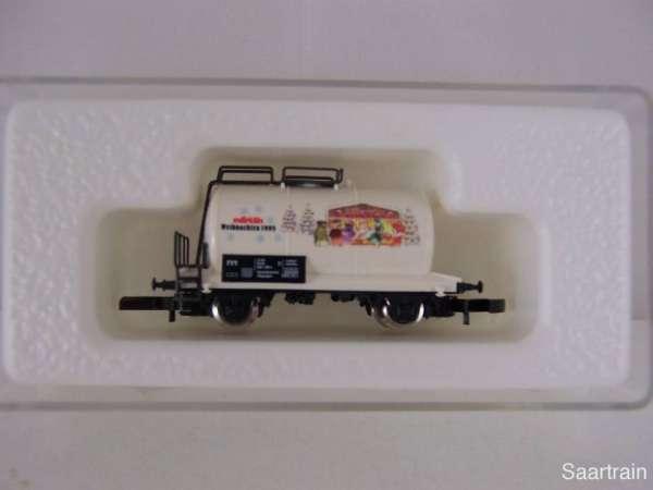 Märklin 8612 Kesselwagen 2 achsig Weihnachtswagen 1998 mit Verpackung 98013