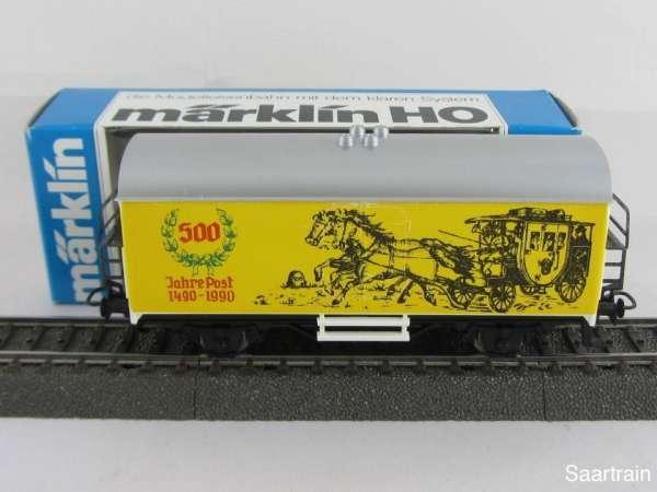 Basis 4415 Werbewagen 500 Jahre Post Kutschen Abbildung Sondermodell mit Verp