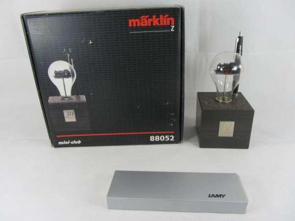Märklin 88052 Dampflok Br 89 in Glühbirne mit Kugelschreiber Standmodell !