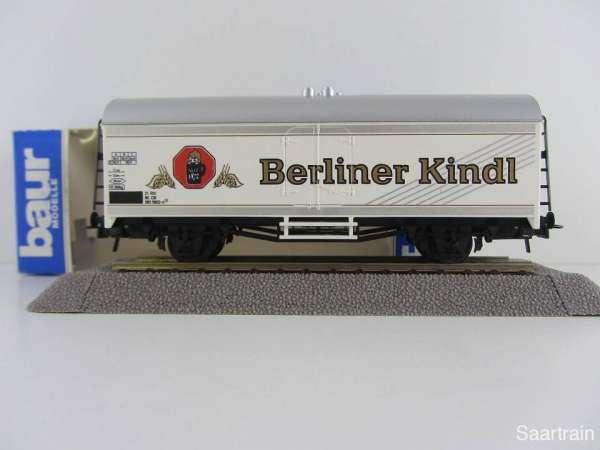 Baur Nr. 205 HO Bierwagen Berliner Kindl weiß Neu mit Originalverpackung