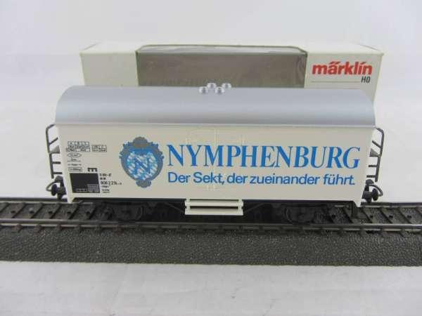 Märklin Basis 4415 Werbewagen NYPHENBURG Sekt, Sondermodell, neu und mit OVP
