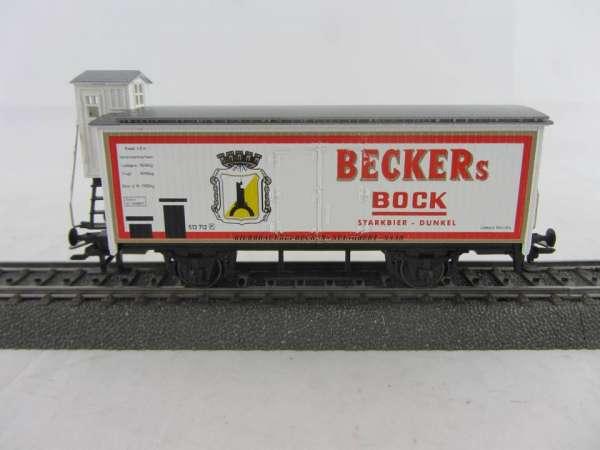 Basis 4680 Bierwagen Becker's Bock Bier, Sondermodell, neuwertig mit Verpackung