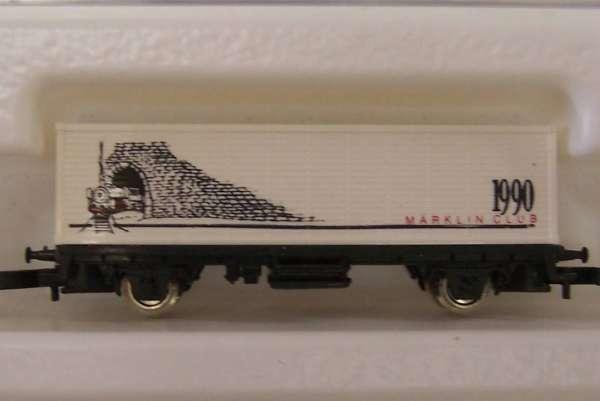 Märklin 8615 Containerwagen Märklin Club USA 1990 mit Original Verpackung