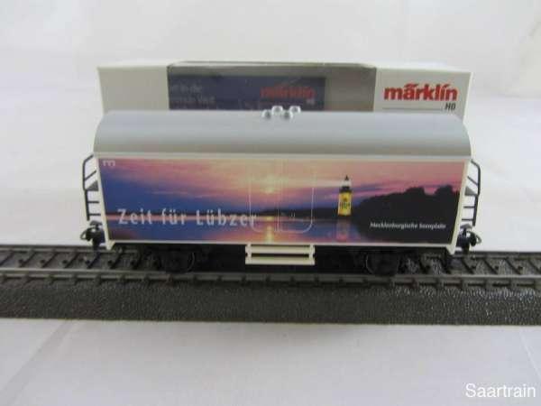 Märklin 4415.411 Bierwagen Lübzer Pils Neu mit Originalverpackung