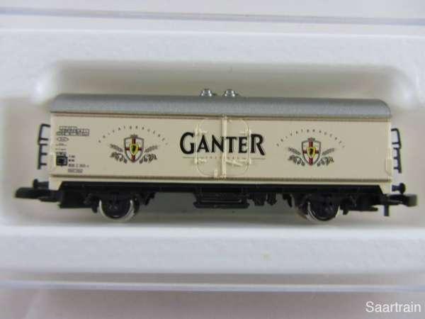 Märklin 8600 Bierwagen Ganter Bier neuwertig und mit Verpackung