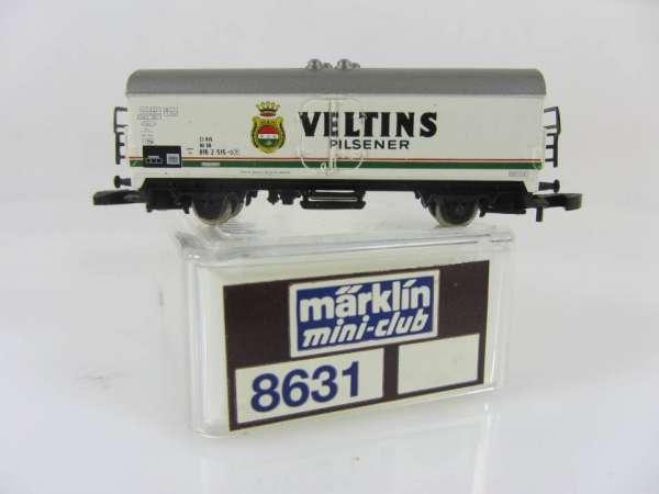 Märklin 8631 Bierwagen Veltins Pilsener sehr guter Zustand mit Verpackung