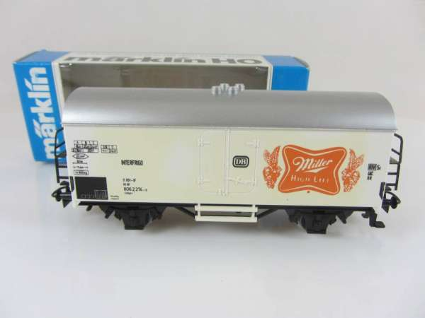 Basis 4415 Bierwagen Miller High Life USA, Sondermodell mit OVP