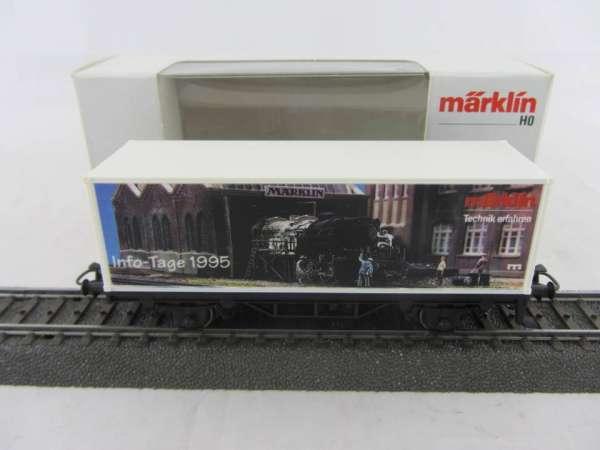 Märklin Basis 4481 Containerwagen Märklin INFO Tage 1995 mit OVP