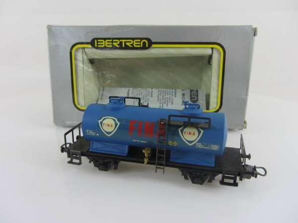 """Ibertren 2388 Kesselwagen """"Fina"""" in blau, sehr guter Zustand mit OVP"""