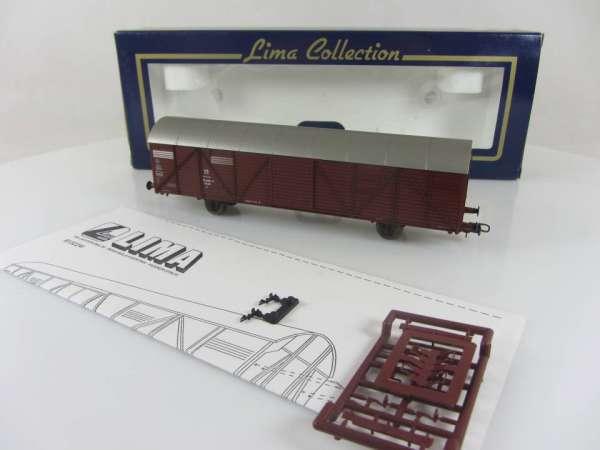 Lima L303225 gedeckter Güterwagen der DR braun, neuwertig mit Verpackung