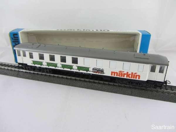 Märklin 4122 Ausstellungswagen Märklin Neu und mit Originalverpackung