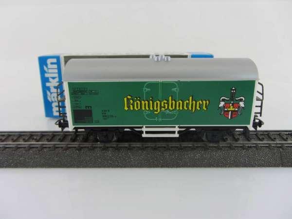 Märklin Basis 4415 Bierwagen Königsbacher Bier grün Sondermodell mit OVP