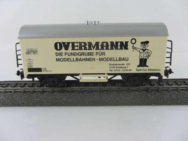 Märklin Basis 4415 Kühlwagen Overmann SOMO gebraucht ohne Verpackung