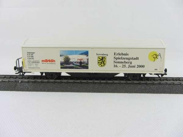 Märklin Basis 4735 Habis-Wagen Spielzeugstadt Sonneberg, ohne Verpackung