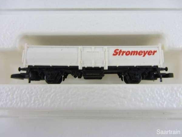 Märklin 8622 Güterwagen 2 achsig Stromeyer aus Startset mit Verpackung